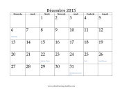 Calendriers Imprimables